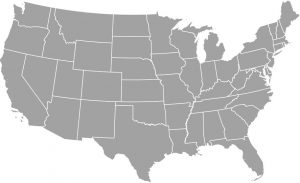 United States Cash For Cars Map Image