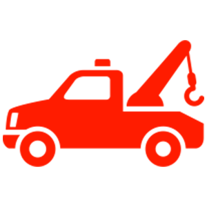Tow Truck Junk Car Icon